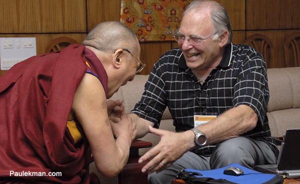 Paul EKman & Dalai Lama