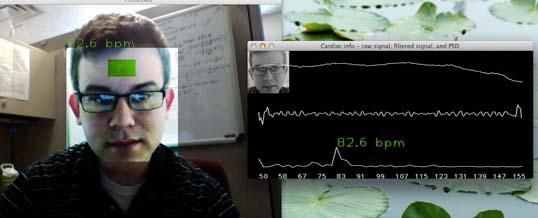 Kamera w laptopie wykryje Twój puls