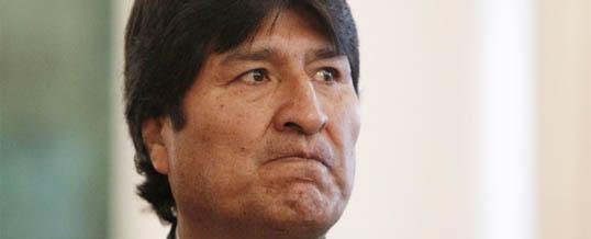 Niezadowolony prezydent Boliwii … ale na co?