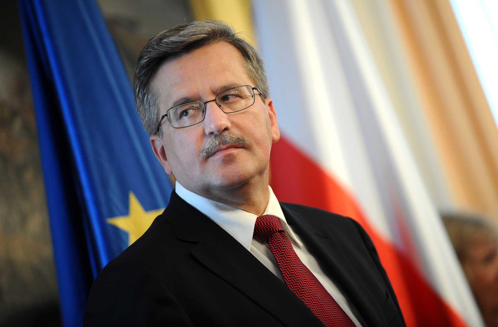 Dominująca postawa Prezydenta Bronisława Komorowskiego