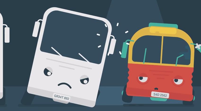 Smutny autobus i duże emocje