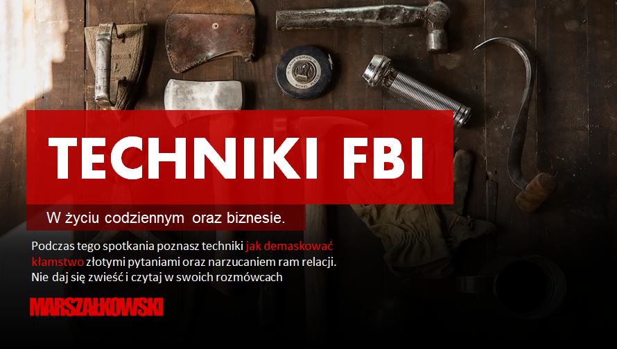 Techniki FBI w biznesie [wideo konferencja]